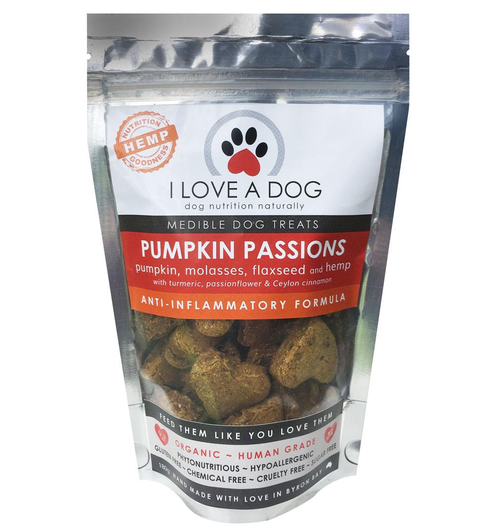 Pumpkin Passions I Love A Dog