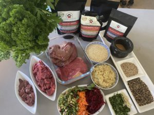 WHAT IS HEALTHY RAW DOG FOOD? And GOLDEN LAMB AND VEGGIE STEW.